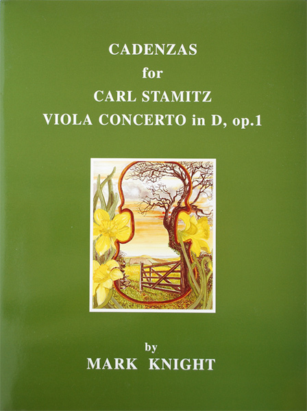 Cadenzas for Carl Stamitz Viola Concerto No.1 in D, op.1