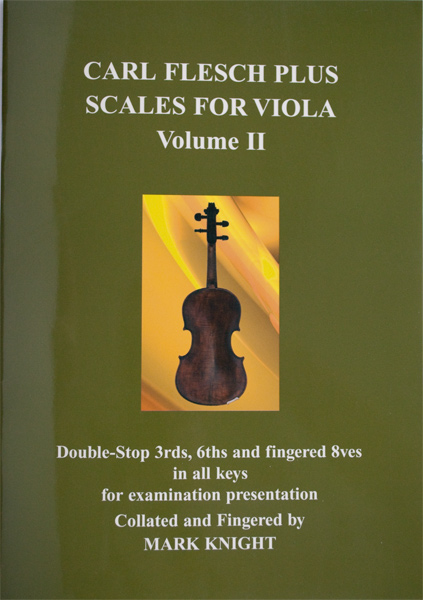 Carl Flesch Plus Scales for Viola Volume II