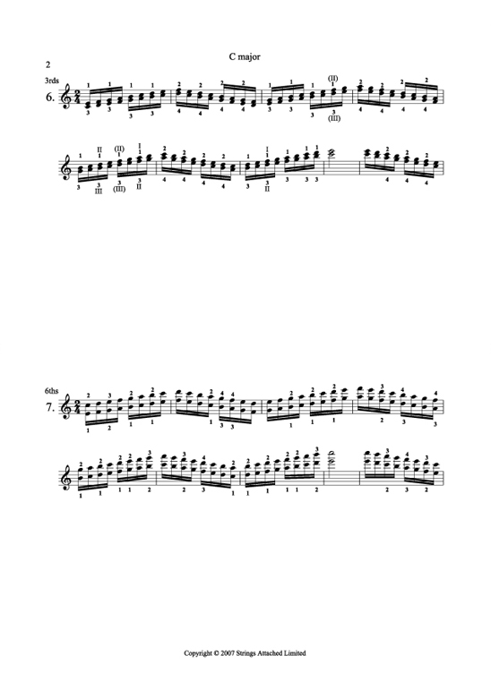Carl Flesch Plus Scales for Violin Volume I, images/images/scales_violin_sample.jpg